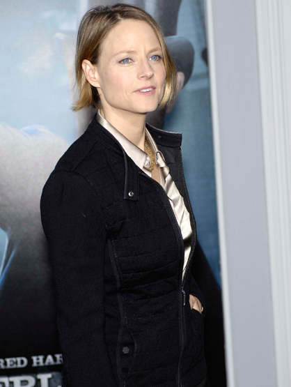 Faces and Places - 12.06.2011 Jodie Foster during the premiere of the new movie from Warner Bros. Pictures SHERLOCK HOLMES: A GAME OF SHADOWS, held at The Village Theatre.