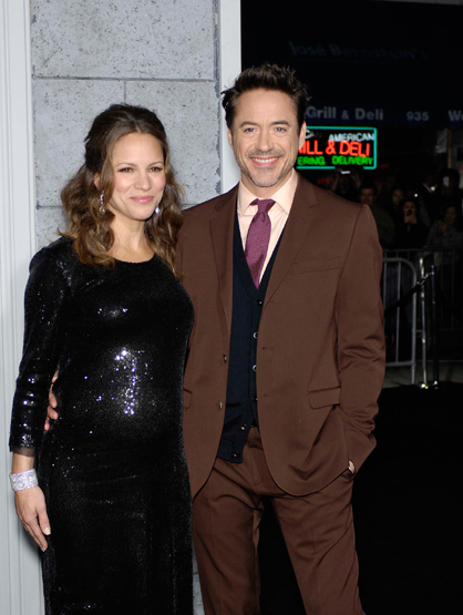 Faces and Places - 12.06.2011 Robert Downey Jr. and Susan Downey during the premiere of the new movie from Warner Bros. Pictures SHERLOCK HOLMES: A GAME OF SHADOWS.