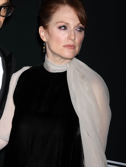 Faces and Places - 12.07.2011 Julianne Moore at the Pirelli dinner held in New York City, USA.