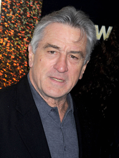 Faces and Places - 12.07.2011 Robert DeNiro at the premiere of