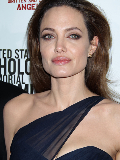 "Faces and Places - 12.08.2011 Angelina Jolie at the ""In the Land of Blood and Honey"" Film Premiere."