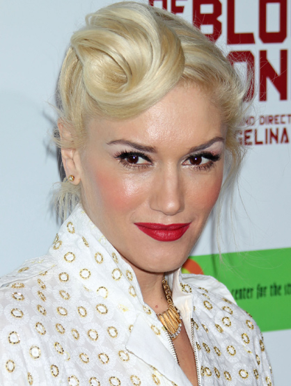 "Faces and Places - 12.08.2011 Gwen Stefani at the ""In the Land of Blood and Honey"" Film Premiere."