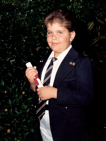 La Escalera: Perez Hilton - Perez as a kid in Miami.