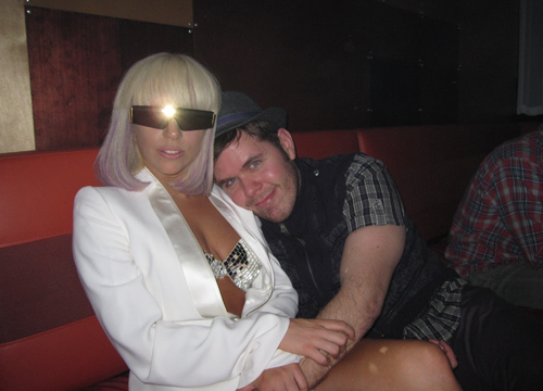 Perez's Celebrity Friends - Perez and Lady Gaga.