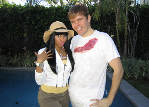 Perez's Celebrity Friends - Perez and Nicki Minaj.