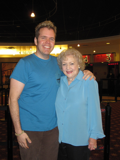 Perez's Celebrity Friends - Perez with Betty White.