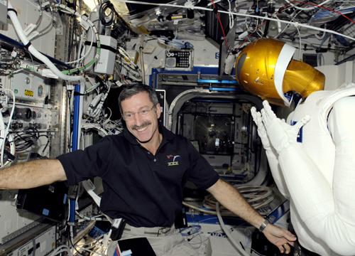 Faces and Places - 12.29.2011 U.S. astronaut Daniel Burbank onboard the International Space Station.