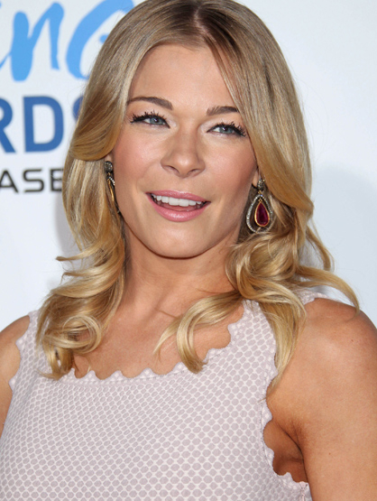 Faces and Places - 12.09.2011 LeAnn Rimes at the American Giving Awards.