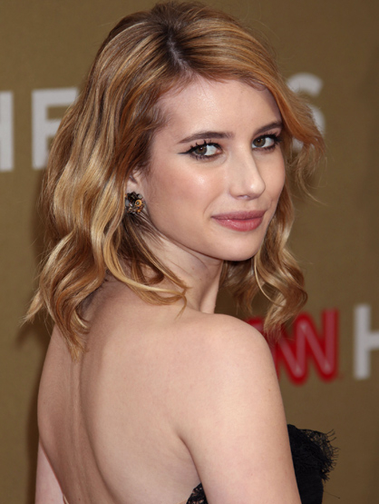 Faces and Places - 12.11.2011 Emma Roberts, CNN Heroes All-Star Tribute.