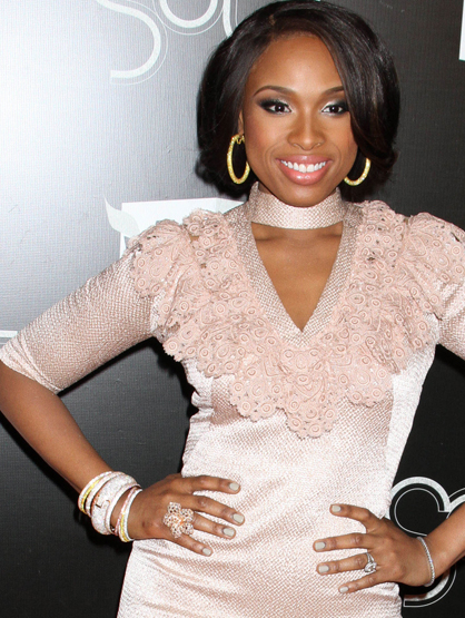 Faces and Places - 12.18.2011 Jennifer Hudson at The VH1 Divas Celebrates Soul in New York City.