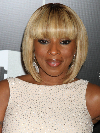 Faces and Places - 12.18.2011 Mary J. Blige at The VH1 Divas Celebrates Soul in New York City.
