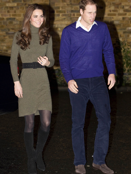 Faces and Places - 12.21.2011 Kate Middleton and Prince William visit Centrepoint's Camberwell Foyer.