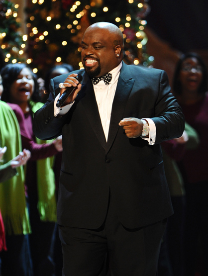 Holiday Spirit - Cee Lo Green performs 'Christmas In Washington' at the National Building Museum.
