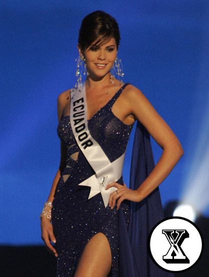The A-Z of Latino Hotness - Miss Ecuador 2005 Ximena Zamora, who also went on to represent her country in the Miss Universe 2005 pageant, was born in Quito, Ecuador.
