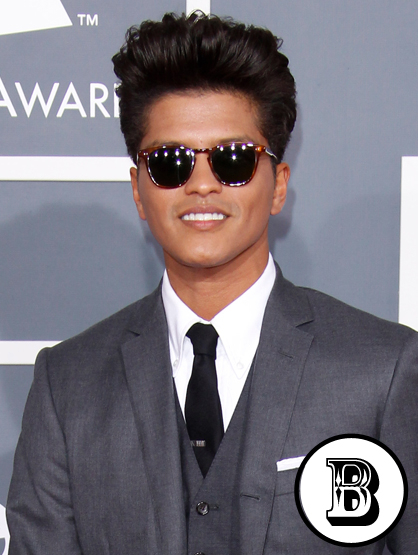 The A-Z of Latino Hotness - Bruno Mars, who's known for the wide variety of his musical styles and influences, is half Puerto Rican thanks to his pap.
