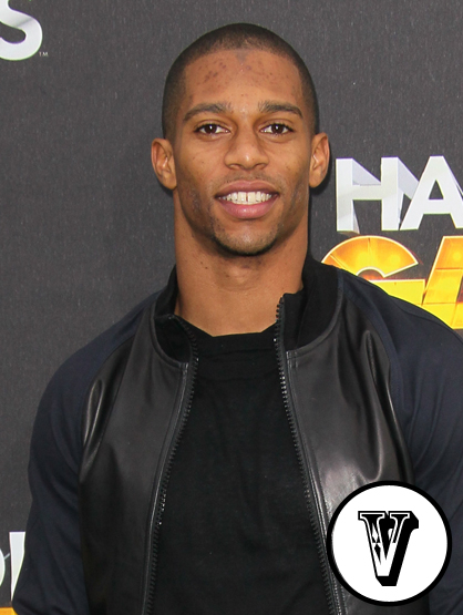 The A-Z of Latino Hotness - Victor Cruz, NFL wide receiver for the New York Giants, is part Puerto Rican. That explains his touchdown dace moves!