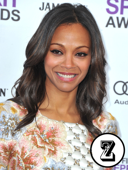 The A-Z of Latino Hotness - Actress Zoe Saldana might have played a <i>Colombiana</i> on the silver screen, but she is in fact Puerto Rican and Dominican.