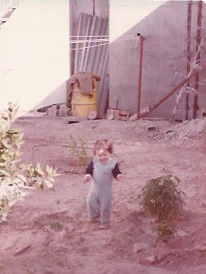 Ricardo Laguna: The Younger Years - Baby Ricardo in his first home in La Paz, Mexico.