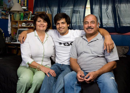 Ricardo Laguna: Family Album - Marisela, Richie and Ricardo Sr.