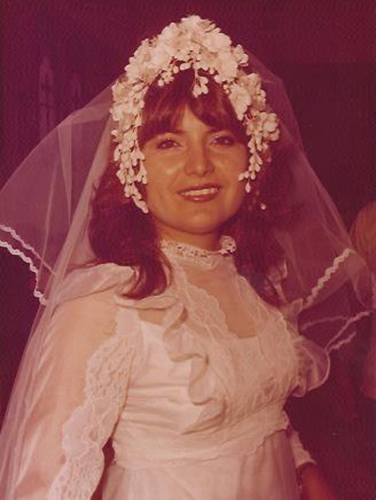 Ricardo Laguna: Family Album - Marisela on her wedding day in 1978.
