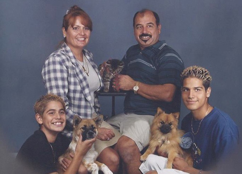 Ricardo Laguna: Family Album - The Laguna Family in 1999.