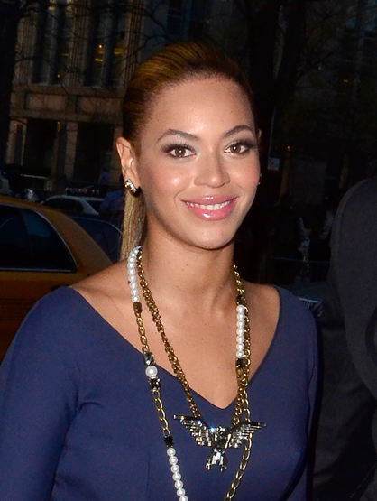 Hottest Moms in Hollywood - Beyonce is mom to Blue Ivy Carter. The world can't seem to get enough of this beautiful mom and daughter!
