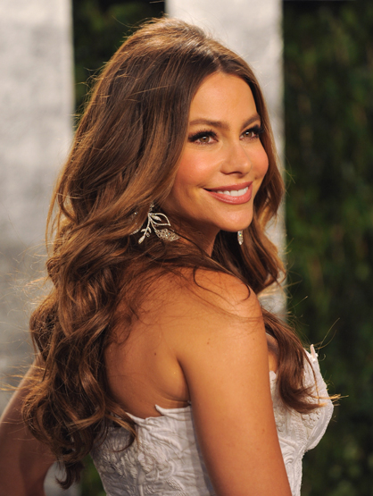 Hottest Moms in Hollywood - Bombshell Sofia Vergara is mom to Manolo Gonzalez-Ripoll Vergara. He's lucky to have her genetics!