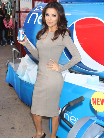 Faces and Places - 04.06.2012 Eva Longoria at a promotional event for Pepsi. (NYC)