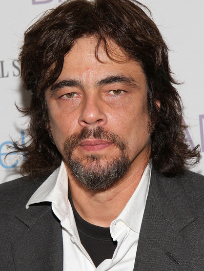 Celebrity Superstitions - Benicio Del Toro revealed that he had a lucky talisman: a ring with a center thats wood instead of stone, and 