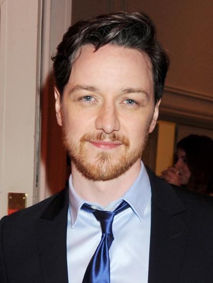 Celebrity Superstitions - James McAvoy believes that if he says