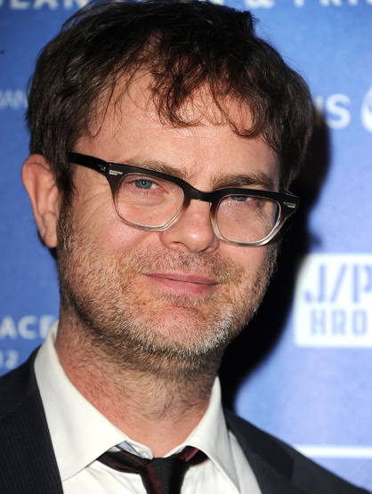 "Celebrity Superstitions - Like most actors, Rainn Wilson won't say the word ""MacBeth"" in a theater, he claims he said it once and a light fell, crushing his foot."