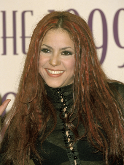 Former Soap Opera Stars - Before her singing career took off, Shakira was a cast member of the Colombian soap opera El Oasis in 1996.