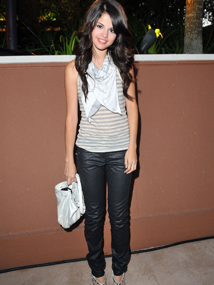 Style Evolution: Selena Gomez - May 2008: At the Disney Channel Games at Epcot Center in Walt Disney World.