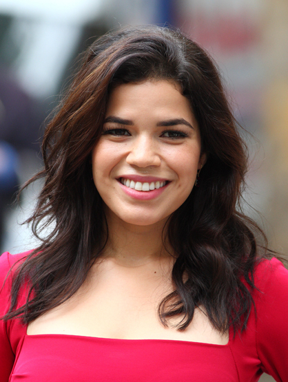 Favorite Latinas - America Ferrera is fearless! She proudly showed off her curves and cellulite in <i> Real Women Have Curves</i> and what an actual Latino family is like in <i>Ugly Betty</i>. She has also brought to light many issues through her work.