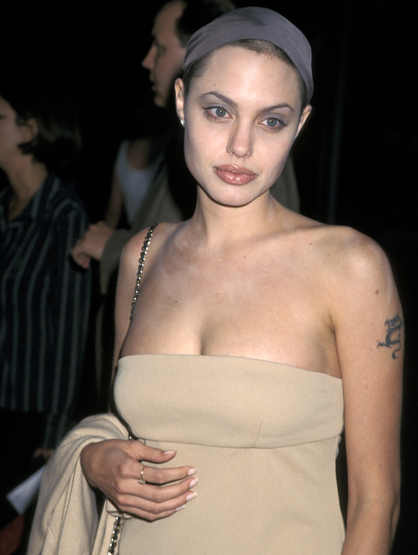 Before They Had Style - Remember when Angelina didn't care...about anything? Glad that changed.