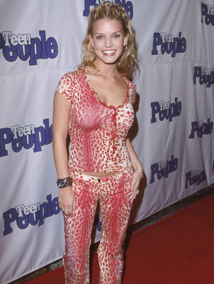 Before They Had Style - Jessica Simpson has come a long way since she wore this outfit to an event. Wonder what she has to say about it now.