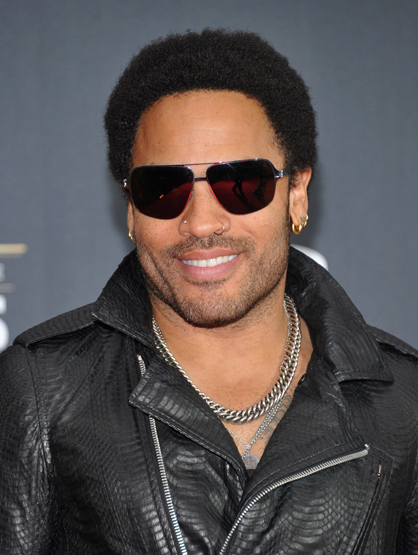 Celebrity Birthdays: May! - May 26: Lenny Kravitz brought alive Cinna in <i> The Hunger Games </i> proving he's more than just a rock star.