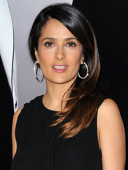 Latina Business Moguls! - Salma Hayek is the CEO of her company, Ventanarosa, has her own organic/natural cosmetic line, Nuance and is the spokeswoman for Campari liquor, Revlon and Avon. We're impressed Salma!