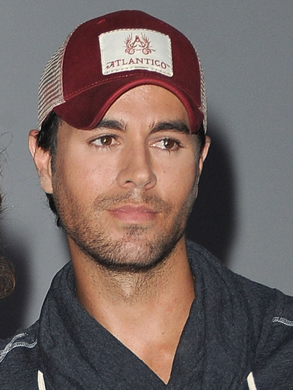 Hottest Latinos - Enrique Iglesias: Always a classic… Always making our hearts melt.