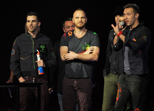 2012 Billboard Music Awards Winners - Coldplay: Top Rock Artist, Top Rock Album, Top Alternative Artist
