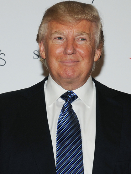 "Forbes Top 25 Most Powerful Celebrities - 14. Donald Trump: Oh, the Trump! Can you believe ""The Apprentice"" is in its 12th season? With a new fragrance and a wide range of products... we can't say we're surprised."