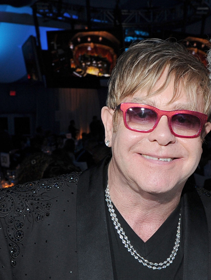 Forbes Top 25 Most Powerful Celebrities - 17. Elton John: Age is just a number! At 65, Elton John is still going STRONG… a new album, a year performing in Las Vegas and a new son! Impressive!