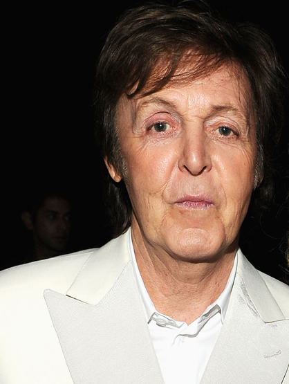 Forbes Top 25 Most Powerful Celebrities - 21. Paul McCartney: This former beetle keeps busy by playing several shows and a phenomenal Grammy performance. He's also a newlywed after marrying his longtime girlfriend.
