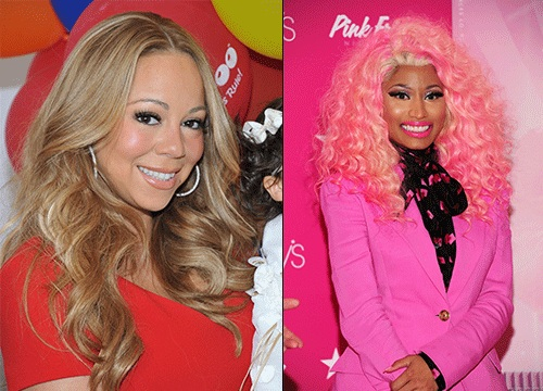 Best of 2012: Celebrity Scandals - Mariah Carey and Nicki Minaj fued.
