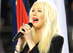 Christina Aguilera Fumbles During Super Bowl National Anthem