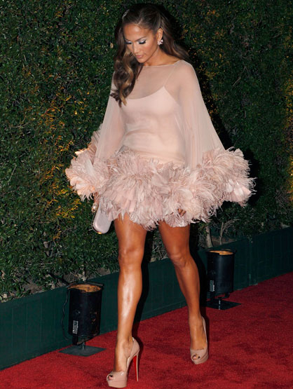 Jennifer Lopez: Through the Years - Jennifer Lopez arrives at the FOX 2011 Golden Globes after party at 9900 Wilshire Blvd on January 16, 2011 in Beverly Hills, California.