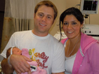 New Parents Adrianna & Brett