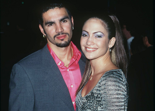 Jennifer Lopez: Through the Years - Jennifer Lopez and first husband Ojani Noa at the