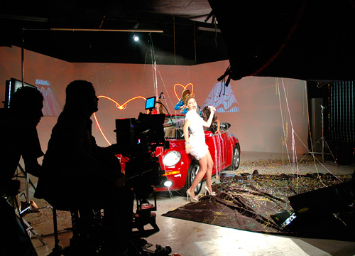 "The Making of Lolita Music Video - Belinda shows us her ""Lolita"" dance"