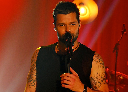 The Performances - Ricky Martin performs during the taping of Studio Tr3s: Ricky Martin in Miami on January 24, 2011.